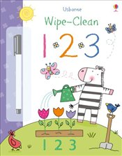 123 (Usborne Wipe Clean Books) - Brooks, Felicity