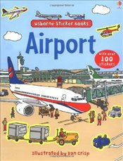 Airport (Usborne Sticker Books) - Brooks, Felicity