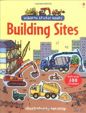 Building Site (Usborne Sticker Books) - Brooks, Felicity