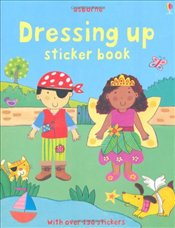 Dressing Up Sticker Book (Usborne Sticker Books) - Brooks, Felicity