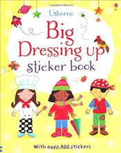 Big Dressing Up Sticker Book - Brooks, Felicity