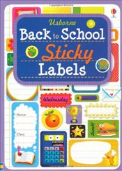 Back to School Sticky Labels - Whatmore, Candice
