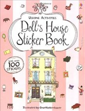 Dolls House Sticker Book (Usborne Sticker Books) - Milbourne, Anna