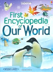 Our World (Usborne First Encyclopedias) (Usborne First Encyclopaedias) - Brooks, Felicity