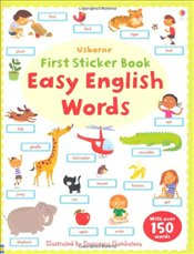 Easy English Words (Usborne First Sticker Books) - Brooks, Felicity