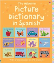 Picture Dictionary in Spanish (Picture Dictionaries) - Brooks, Felicity