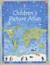 Usborne Childrens Picture Atlas - Brocklehurst, Ruth