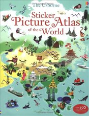 Sticker Picture Atlas of the World (Sticker Book) - Lake, Sam