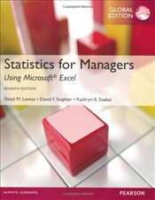 Statistics for Managers Using MS Excel 7e - Levine, David M.