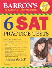 Barrons 6 SAT Practice Tests  - Geer, Philip