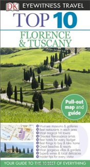 Top 10 Florence& Tuscany [With Pull-Out Map and Guide] - Bramblett, Reid