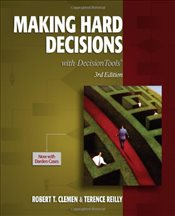 Making Hard Decisions with Decision Tools 3E - Clemen, Robert T.