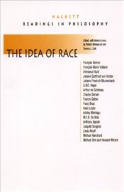 Idea of Race - Bernasconi, Robert