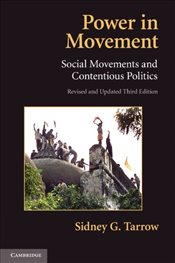 Power in Movement 3e : Social Movements and Contentious Politics - Tarrow, Sidney