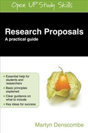 Research Proposals: A Practical Guide - Denscombe, Martyn