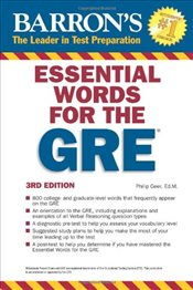Barrons Essential Words for the GRE - Geer, Philip