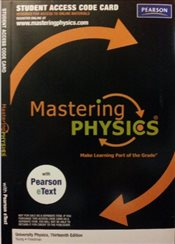Mastering Physics - Student Access Code Card for University Physics with Pearson Etext - Young, Hugh D.