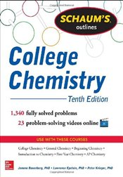 Schaums Outline of College Chemistry 10e - Rosenberg, Jerome