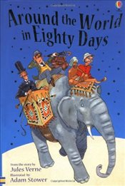 Around the World in Eighty Days (Young Reading level 2) - Verne, Jules