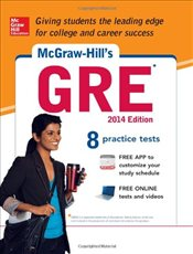 McGraw-Hills GRE with CD-ROM, 2014 Edition - Dulan, Steven