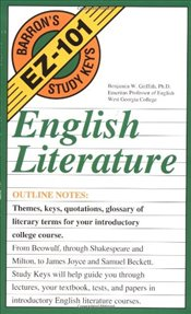 English Literature (Barrons study keys) - Griffith, Benjamin W.