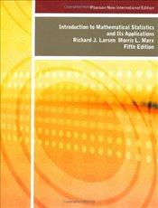 Introduction to Mathematical Statistics and its Applications 5e PNIE - Larsen, Richard J.