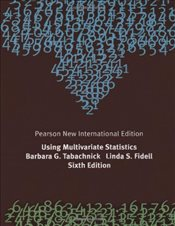 Using Multivariate Statistics 6e NPIE - Tabachnick, Barbara