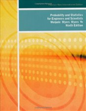 Probability and Statistics for Engineers and Scientists 9e NPIE - Walpole, Ronald E.