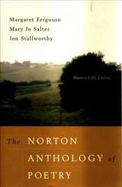 Norton Anthology of Poetry 5e : Shorter - Ferguson, Margaret