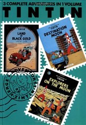 Adventures of Tintin 3 Complete Adventures in One Volume - Herge,