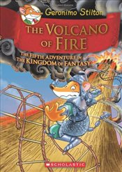 Geronimo Stilton : The Volcano of Fire (Kingdom of Fantasy #5) - Stilton, Geronimo