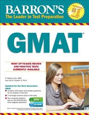 Barrons GMAT with CD-ROM -