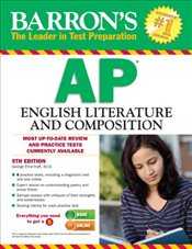 Barrons AP English Literture and Composition 5e - Ehrenhaft, George