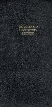 Robert Frank : Household Inventory Record - Frank, Robert