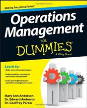 Operations Management For Dummies - Anderson, Mary Ann