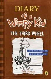 Diary of a Wimpy Kid : The Third Wheel  - Kinney, Jeff