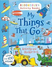 My Things That Go! Activity and Sticker Book (Activity Books for Boys) - Collective,