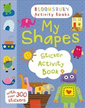 My Shapes Sticker Activity Book (Maths Activity Books) - Collective,