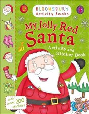 My Jolly Red Santa Activity and Sticker Book (Holiday Activity and Sticker Books) - Collective,