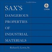 Saxs Dangerous Properties of Industrial Materials Set CD-ROM - Lewis, Richard J.