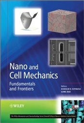 Nano and Cell Mechanics : Fundamentals and Frontiers  - Espinosa, Horacio D.