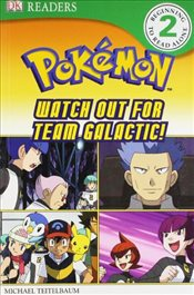 Pokemon - Watch Out for Team Galactic! : DK Readers Level 2 - Teitelbaum, Michael