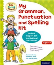 Oxford Reading Tree : Read with Biff, Chip and Kipper: My Grammar, Punctuation and Spelling Kit - Young, Annemarie
