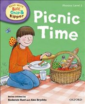 Oxford Reading Tree Read with Biff, Chip and Kipper : Level 2 : Picnic Time  - Rider, Cynthia