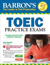 Barrons Toeic Practice Exams with MP3 CD, 2nd Edition - Lougheed, Lin
