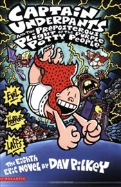 Captain Underpants and the Preposterous Plight of the Purple Potty People - Pilkey, Dav