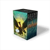 Percy Jackson and the Olympians 5 Book Paperback Boxed Set  - Riordan, Rick