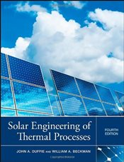 Solar Engineering of Thermal Processes 4E - Duffie, John A.