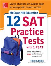 12 SAT Practice Tests with PSAT 3e - Black, Christopher