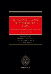 Transnational Commercial Law : International Instruments and Commentary - Goode, Roy